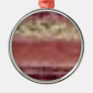 Ornamento De Metal linhas vermelhas tan da rocha
