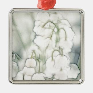 Ornamento De Metal Lírio do buquê da flor do vale