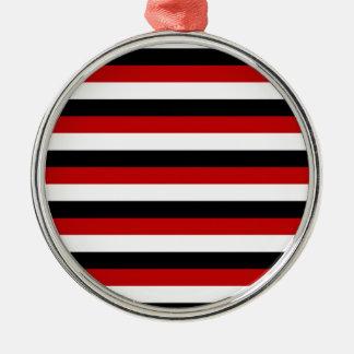 Ornamento De Metal Listras da bandeira de Trinidad and Tobago Yemen