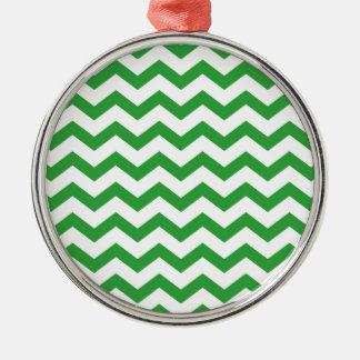 Ornamento De Metal listras verdes da viga