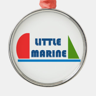 Ornamento De Metal little marina