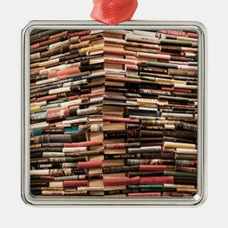 Ornamento De Metal Livros