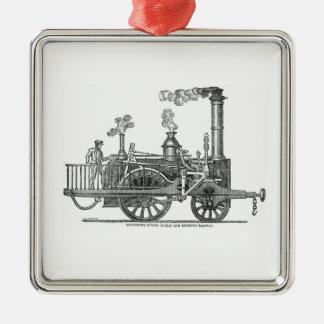 Ornamento De Metal Locomotiva de vapor adiantada