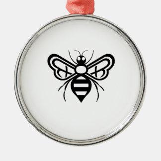 Ornamento De Metal Logotipo da abelha dos acres de Riley