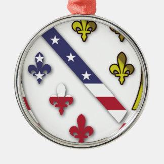 Ornamento De Metal Logotipo feito sob encomenda claro do design da