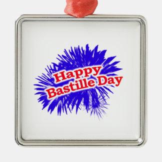Ornamento De Metal Logotipo feliz do gráfico do dia de Bastille
