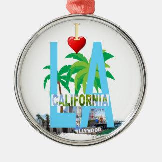 Ornamento De Metal Los Angeles l uma cidade EUA América de Califórnia