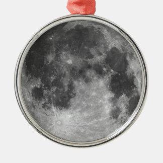 Ornamento De Metal Lua cheia