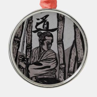 Ornamento De Metal Lua de Bushido por Cartrer L. Shepard