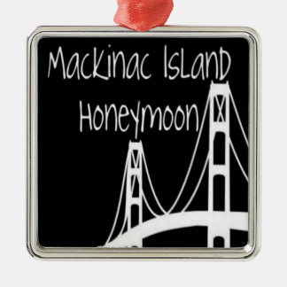Ornamento De Metal Lua de mel da ilha de Mackinac