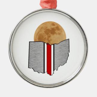 Ornamento De Metal Luar de Ohio