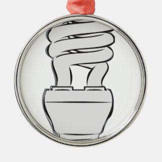 Ornamento De Metal Luz de poupança de energia