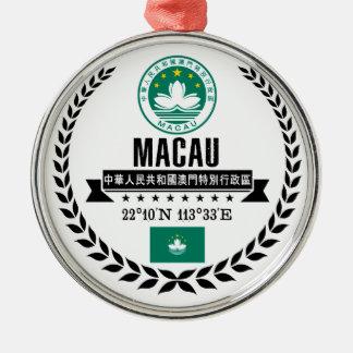 Ornamento De Metal Macau