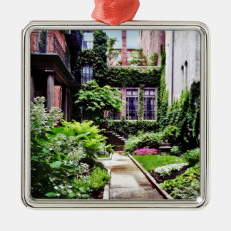 Ornamento De Metal MÃES de Boston - jardim escondido