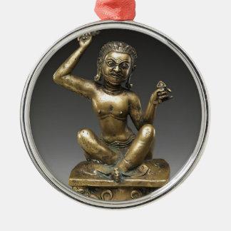 Ornamento De Metal Mahasiddha, rei da flor