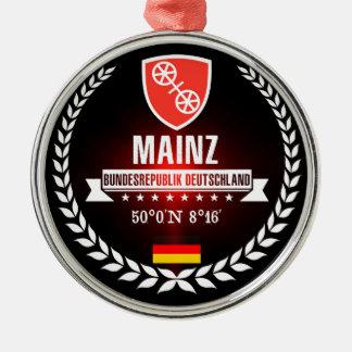 Ornamento De Metal Mainz