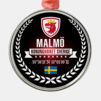 Ornamento De Metal Malmö