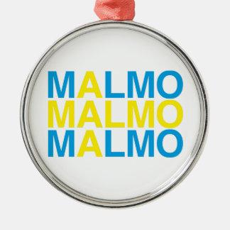 ORNAMENTO DE METAL MALMO