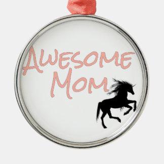 Ornamento De Metal Mamã impressionante