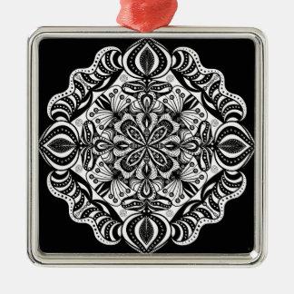 Ornamento De Metal Mandala