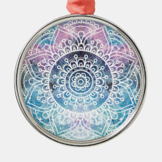 Ornamento De Metal Mandala da galáxia