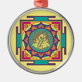 Ornamento De Metal Mandala de Ganesha