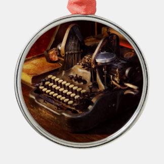 Ornamento De Metal Máquina de dactilografia de Steampunk - de Oliver