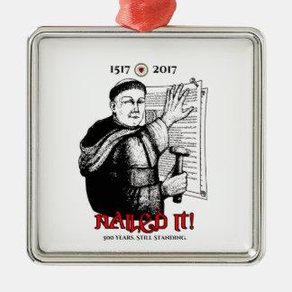 Ornamento De Metal Martin Luther pregou-o!