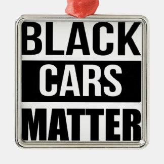 Ornamento De Metal Matéria preta dos carros - humor engraçado da