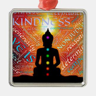 Ornamento De Metal Meditação