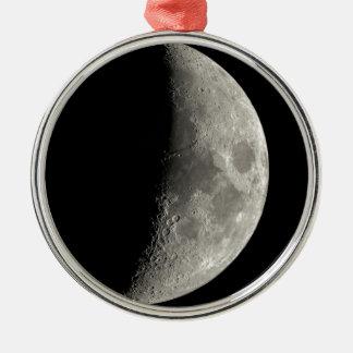 Ornamento De Metal Meia lua