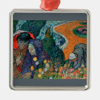 Ornamento De Metal Memória do jardim em Etten por Vincent van Gogh
