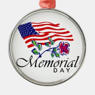 Ornamento De Metal Memorial Day