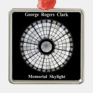 Ornamento De Metal Memorial de George Rogers Clark