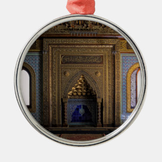 Ornamento De Metal Mesquita o Cairo do palácio de Manial
