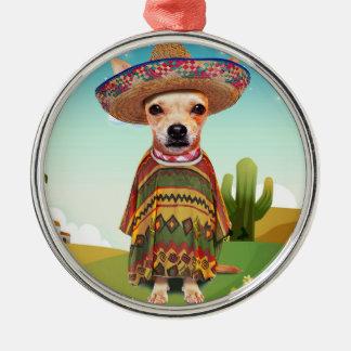 Ornamento De Metal mexicano 000