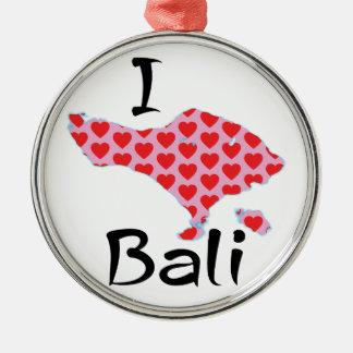 Ornamento De Metal Mim coração Bali