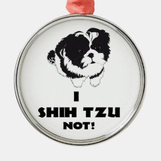 Ornamento De Metal mim design do futz do shah não