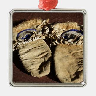 Ornamento De Metal Mitenes do Cree do vintage