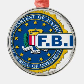 Ornamento De Metal Modelo do selo do FBI