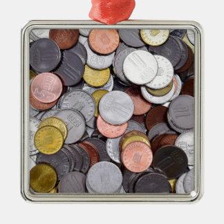 Ornamento De Metal moedas romenas