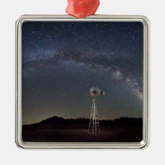 Ornamento De Metal Moinho de vento da Via Láctea