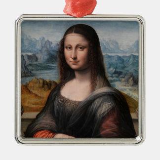 Ornamento De Metal Mona Lisa