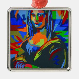 Ornamento De Metal Mona Lisa Wpap