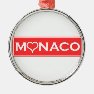 Ornamento De Metal Mónaco