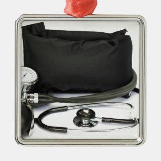 Ornamento De Metal Monitor profissional preto da pressão sanguínea no