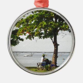 Ornamento De Metal Montada no caribe