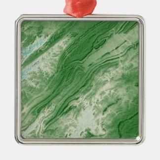 Ornamento De Metal Montanhas apalaches no estilo das caraíbas de