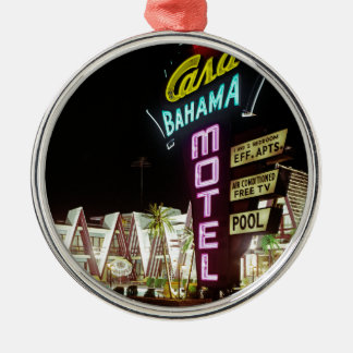 Ornamento De Metal Motel de Bahama das casas em Wildwood, New-jersey,