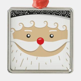 Ornamento De Metal Motivo do Natal de Papai Noel
